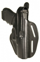 Blackhawk 420004BKR Pancake Concealment XD Black Leather