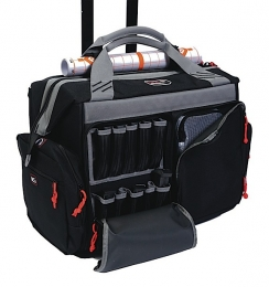 G*Outdoors 2215RB Rolling Range Bag Canvas Smooth Black