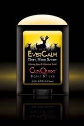 Conquest Scents 1214 EverCalm Scent Stick Deer 2.5 oz