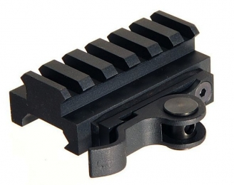 Aimshot MT61172 Quick Release Riser Base For AR AR-15 Style