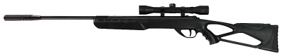 RWS 2251300 Surge Air Rifle Combo in .177 With 4X32 Scope Bl