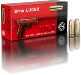 GECO 2317707 9mm Luger 115GR Jacketed Hollow Point 50Box/20C