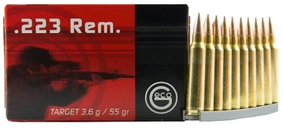 GECO 356141000 FMJ 223 Remington/5.56 NATO Full Metal Jacket