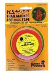 Hunters Specialties Non Adhesive Trailmarking Tape 150 Feet