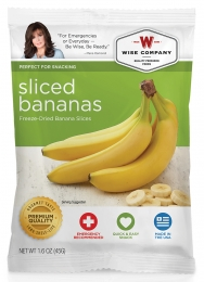 WISE 05401 SLICED BANANAS 6CT