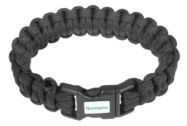 REM 17373 HERO CORD BRACELET 8IN BLK