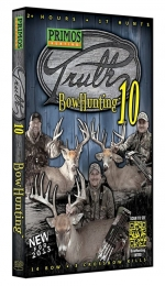 Primos 46101 The Truth 10 - Bowhunting DVD 17 Hunts 14 Bow/3 Crossbow