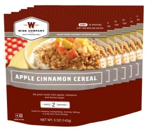 WISE 05512 APPLE CINN CEREAL 6CT 2SER